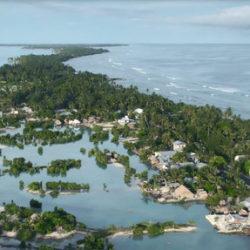 Kiribati verdrinkt